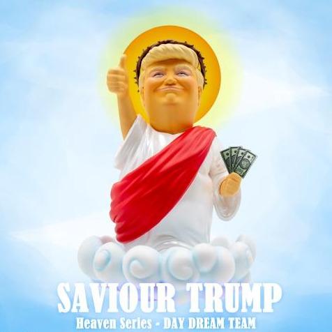 Fire Rooster Studio / The Day Dream Team / Saviour Trump 救世彌普 川普 搪膠人偶 Fire Rooster Studio,The Day Dream Team,Saviour Trump,救世彌普,搪膠人偶