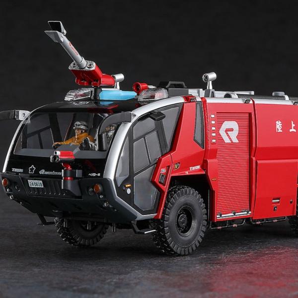 Hasegawa / 1/72 / 6×6 機場用化学消防車 / 組裝模型  Hasegawa,1/72,6x6,機場用化学消防車,組裝模型