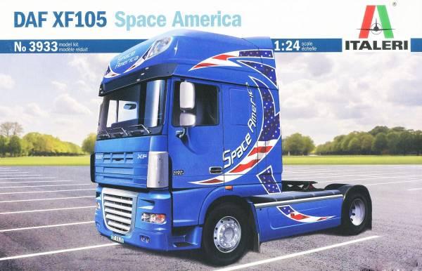 ITALERI 義大利模型 1/24 NO.3933 DAF XF105 Space America 組裝模型 ITALERI,義大利模型,1/24,NO.3933,DAF XF105 Space America,組裝模型