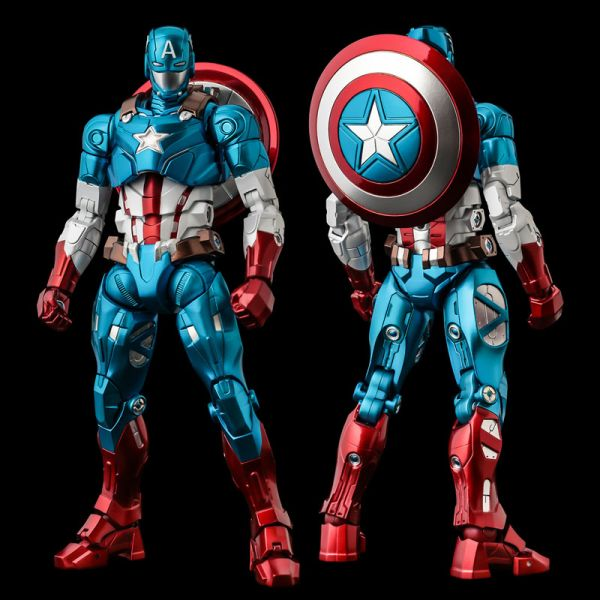 千值練 MARVEL 漫威 FIGHTING ARMOR 美國隊長 可動模型 [即將發售 請點貨到通知],千值練,MARVEL,漫威,FIGHTING ARMOR,美國隊長,可動模型,