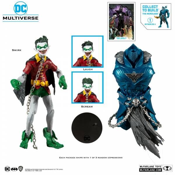 McFarlane Toys DC MULTIVERSE BUILD-A 喪屍羅賓 無情戰神配件 McFarlane Toys,DC,MULTIVERSE,BUILDA,喪屍羅賓,無情戰神配件,