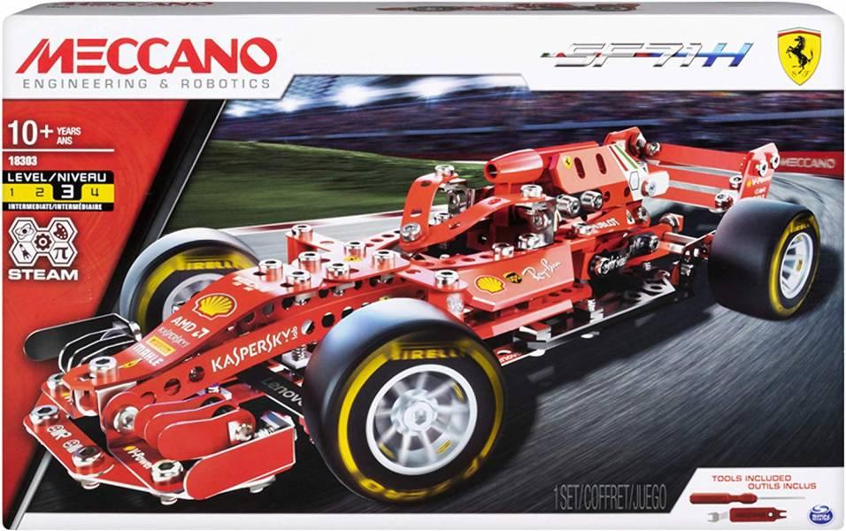 MECCANO / 金屬建構 / 法拉利 F1賽車組 Ferrari F1 Grand Prix Racer 組裝模型 #6044641 MECCANO,金屬建構組裝模型,法拉利 F1,賽車組,Ferrari F1 Grand Prix Racer
