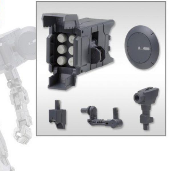 Kotobukiya 壽屋 M.S.G MW36 導彈與雷達天線 再販,MSG,武裝零件,機械式連接地台R,A款