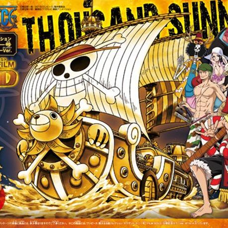 海賊王 GRAND SHIP COLLECTION 千陽號 劇場版GOLD.ver 海賊王,GRAND SHIP COLLECTION,千陽號,劇場版GOLD.ver