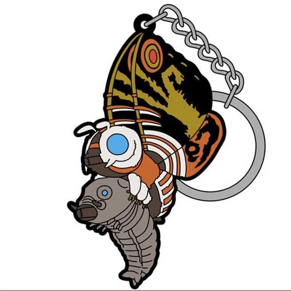 COSPA 哥吉拉 摩斯拉 成蟲&幼蟲 92' 拎起來 造型鑰匙圈 COSPA,哥吉拉,摩斯拉,成蟲,幼蟲 92',拎起來,造型鑰匙圈