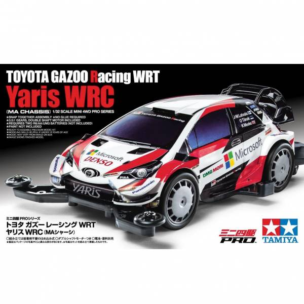 TAMIYA 田宮 #18654 迷你四驅車 軌道車 Toyota Gazoo Racing WRT Yaris WRC MA底盤 TAMIYA, 田宮,18654,迷你四驅車,Toyota, Gazoo Racing, WRT, Yaris WRC, MA底盤