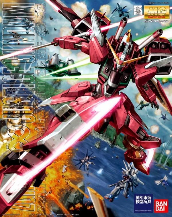 BANDAI MG 1/100 SEED 無限正義鋼彈 Infinite Justice Gundam ZGMF-X19A 組裝模型 BANDAI ,MG ,1/100, SEED ,無限正義鋼彈 ,Infinite Justice Gundam ,ZGMF-X19A ,組裝模型