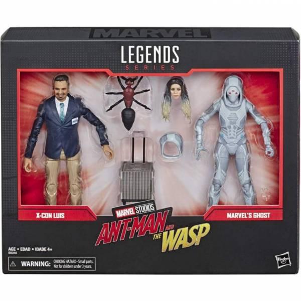 Hasbro 孩之寶 漫威 MARVEL LEGENDS 80周年 / 蟻人與黃蜂女 幽靈 & 路易斯 可動人偶 Hasbro,孩之寶,漫威,MARVEL LEGENDS,80周年,幽靈,路易斯