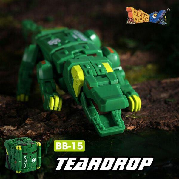 52TOYS 猛獸匣 BB-15 TEARDROP 淚眼煞星 鱷魚 52Toys,猛獸匣,BB-15,TEARDROP,淚眼煞星,鱷魚