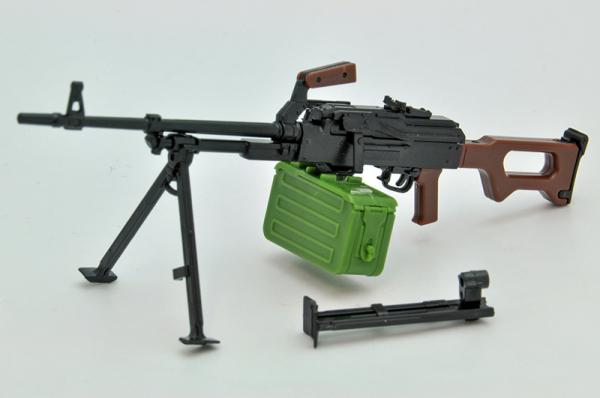 Tomytec / 1/12 / 迷你武裝 / LA043 / PKM 通用機槍/ 組裝模型 Tomytec,1/12,迷你武裝,LA043,PKM 通用機槍,組裝模型