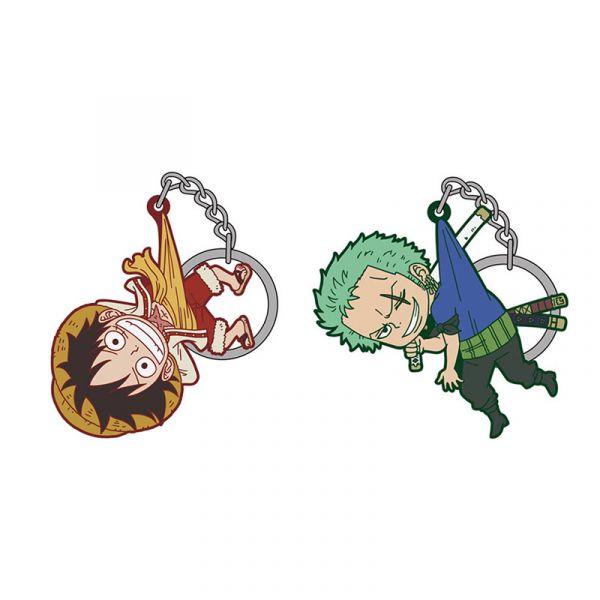 COSPA 海賊王 捏起來 角色軟膠鑰匙圈 蛋糕島篇 魯夫 索隆 全2款 各別販售 COSPA,海賊王,角色軟膠鑰匙圈,魯夫,索隆