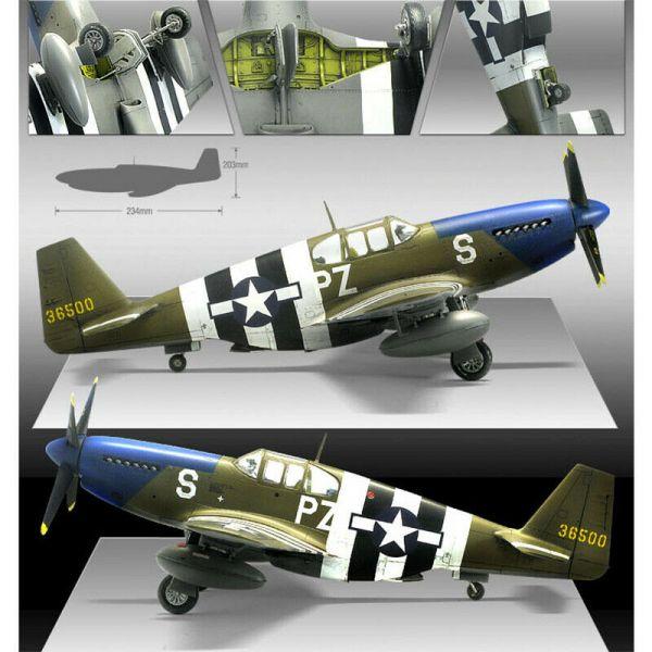 Academy 愛德美 1/48 美國 P-51B Blue Nose 諾曼第登陸70周年紀念版 組裝模型 Academy,愛德美, 1/48, 美國, P-51B, Blue Nose, 諾曼第登陸70周年紀念版, 組裝模型