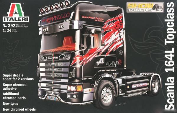 ITALERI 義大利模型 1/24 NO.3922 Scania 164 L Top Class 組裝模型 ITALERI,義大利模型,1/24,NO.3922,Scania 164 L Top Class,組裝模型