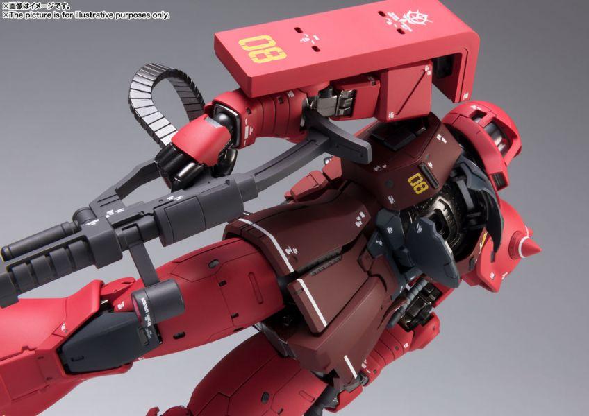 [即將發售 請點貨到通知]BANDAI G.F.F. METAL COMPOSITE MS-05S 薩克Ⅰ夏亞專用機 已塗裝可動完成品 BANDAI G.F.F. METAL COMPOSITE MS-05S 薩克Ⅰ夏亞專用機 已塗裝可動完成品