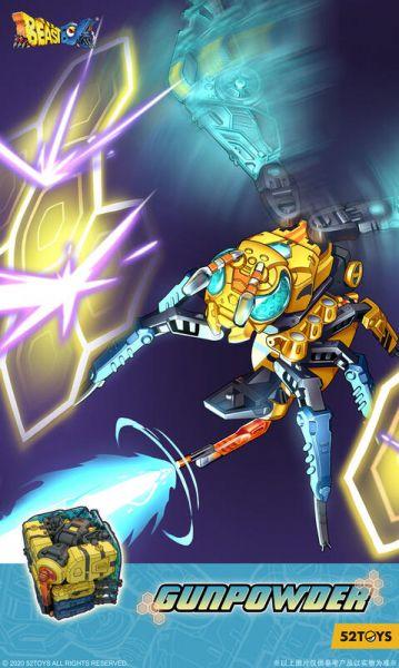[特典版] 52TOYS 猛獸匣 BeastBox 熱頭黃蜂 火藥 BB-38 [特典版],52TOYS,猛獸匣,BeastBox,熱頭黃蜂,火藥,BB-38,