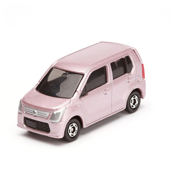 TOMICA 多美小汽車 1/62 #105 SUZUKI MR WAGON 粉紅色 已塗裝玩具車 TOMICA,多美小汽車,1/62,#105,SUZUKI,MR WAGON,粉紅色,已塗裝玩具車