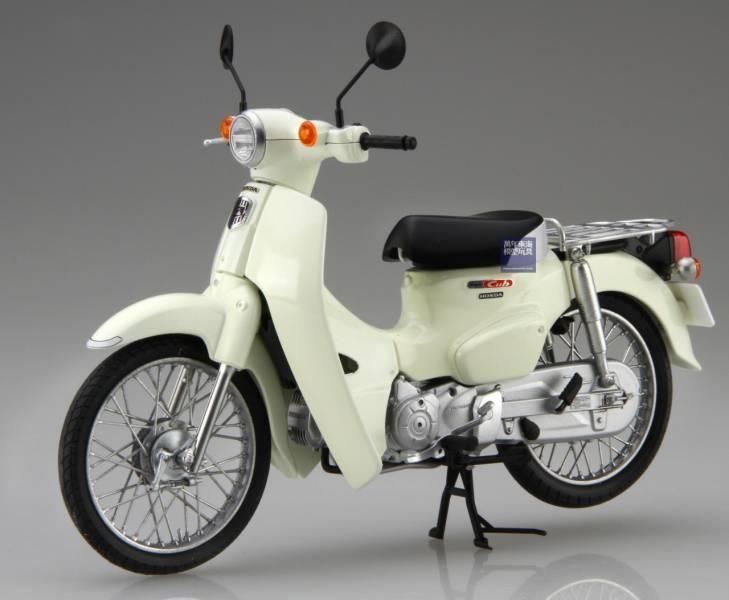 1/12 HONDA Super CUB 110 經典白 FUJIMI BikeNX1EX2 富士美 組裝模型 FUJIMI,1/12,NEXT,HONDA,Super,CUB,110,金屬藍,白色,