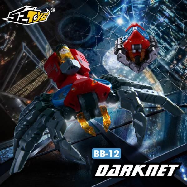 52Toys / 猛獸匣 BEAST BOX / 蜘蛛 暗網獵手 DARKNET BB-12 52Toys,猛獸匣,BEAST BOX,蜘蛛 暗網獵手,DARKNET,BB-12