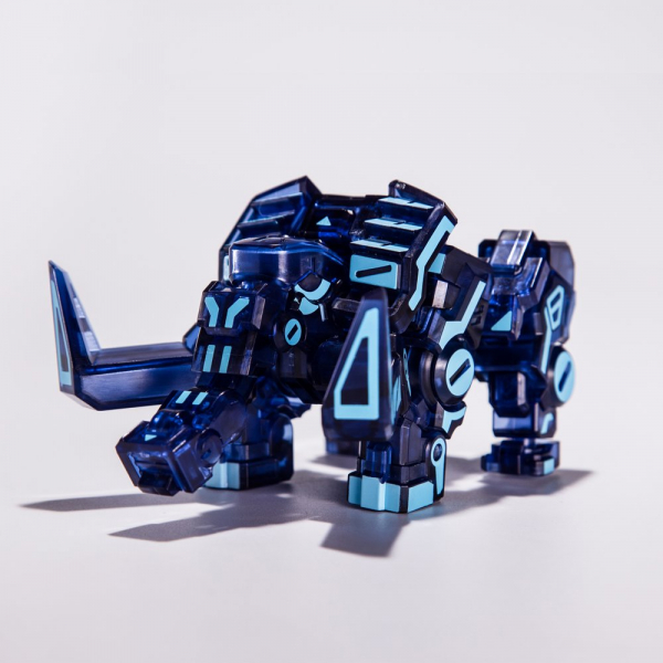 52Toys / 猛獸匣 BEAST BOX / 猛瑪象 霓虹藍 限定版 / BB-04NB MOMA 52Toys,猛獸匣,BEAST BOX,猛瑪象,霓虹藍,限定,BB-04NB,MOMA
