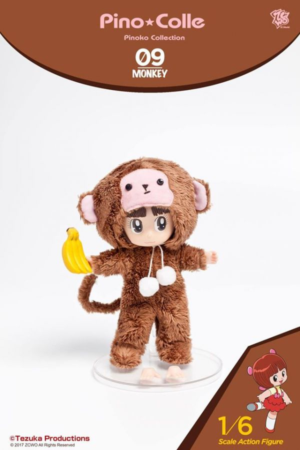 ZCWO 1/6 怪醫黑傑克 皮諾可09 猴子版 可動公仔 ZCWO,1/6,怪醫黑傑克,皮諾可09,猴子版