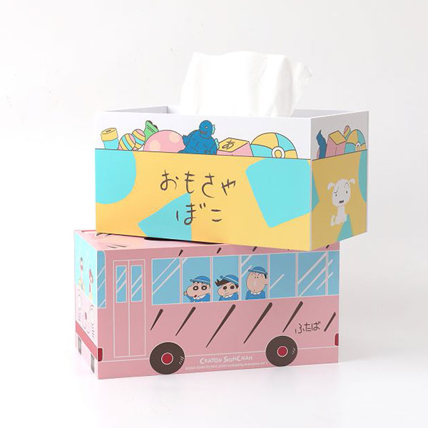 Norns 蠟筆小新 木質面紙盒 全2種 分別販售 Norns,蠟筆小新,木質面紙盒
