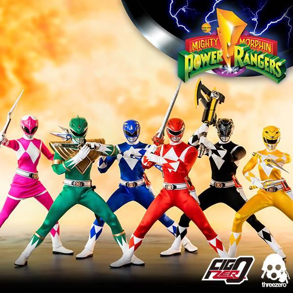 Threezero 1/6 新恐龍戰隊 金剛戰士 Power Rangers 可動公仔 6隻套組&個別販售  Threezero,1,6,新,恐龍戰隊,金剛戰士,Power Rangers,可動公仔,6隻套組,個別販售,