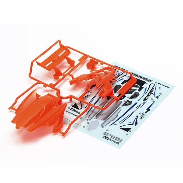 TAMIYA 田宮 #95511 迷你四驅車 軌道車 DCR-02 硬殼組 螢光橘 限定版 田宮, TAMIYA ,95511, 迷你四驅車, 軌道車, DCR-02, 硬殼,螢光橘,限定版