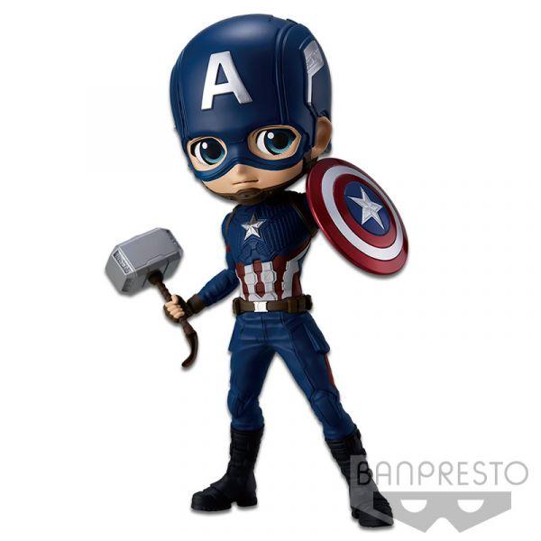 BANPRESTO 景品 Q posket MARVEL 美國隊長 A款頭盔 BANPRESTO,景品,Q posket,MARVEL,美國隊長