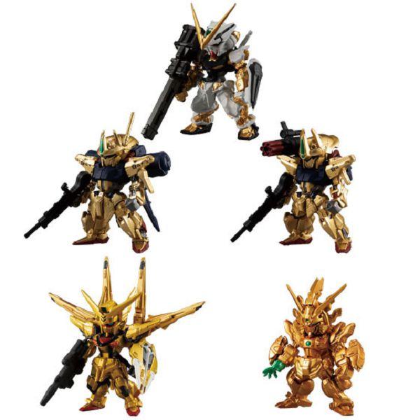BANDAI 盒玩 FW GUNDAM CONVERGE 金色版 全5種 一中盒8入販售 BANDAI,盒玩,FW GUNDAM CONVERGE,金色版