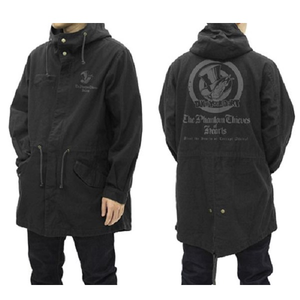 COSPA 女神異聞錄5 心之怪盜團 M-51軍裝外套 大衣 黑色 COSPA,女神異聞錄5,心之怪盜團,M-51軍裝外套,大衣