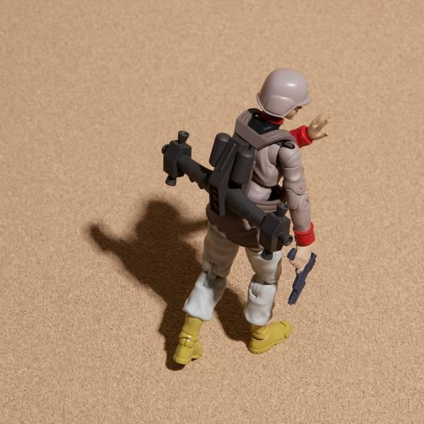 MEGAHOUSE G.M.G. 機動戰士鋼彈 地球連邦軍 一般士兵03 MEGAHOUSE G.M.G. 機動戰士鋼彈 地球連邦軍 一般士兵03