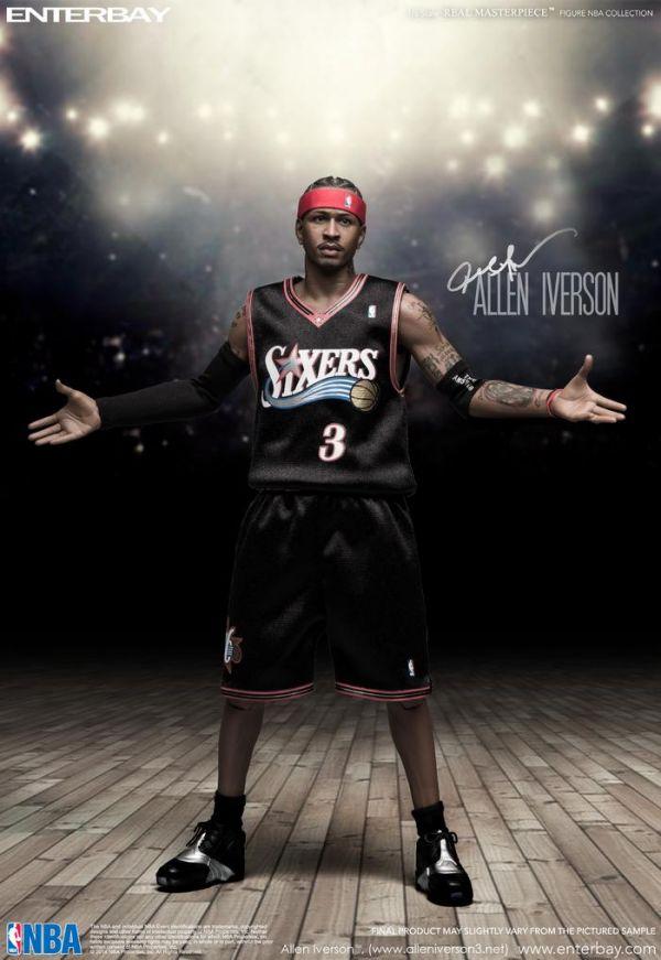 [升級限量版] ENTERBAY / 1/6 / NBA / 七六人隊 / Allen Iverson / 艾倫·艾佛森 ENTERBAY,1/6,NBA,七六人隊,Allen Iverson,艾倫·艾佛森