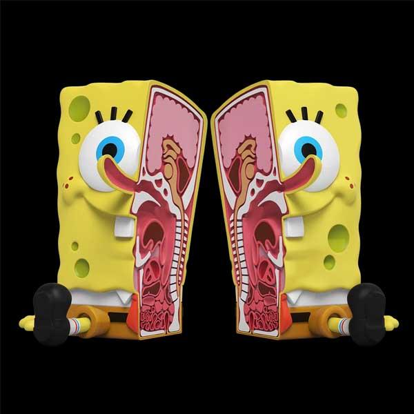 Mighty Jaxx 6吋 XXPOSED 海綿寶寶  Squarepants Toy  Mighty Jaxx,6吋,XXPOSED,海綿寶寶,Squarepants Toy