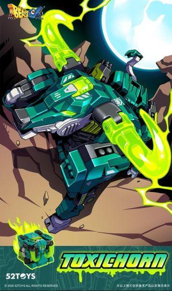 52toys 猛獸匣 BeastBOX 野牛 毒素 BB-27 52toys,猛獸匣,BeastBOX,野牛,毒素,BB-27,