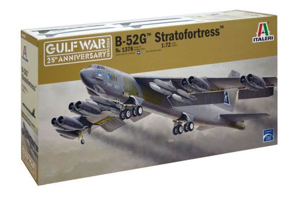 ITALERI 義大利模型 1/72 #1378 B-52G 同溫層堡壘轟炸機 組裝模型 ITALERI,義大利模型,1/72,#1378,B-52G,同溫層堡壘轟炸機,組裝模型