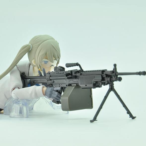 Tomytec / 1/12 / 迷你武裝 / LA046 / 5.56mm機關槍  Tomytec,1/12,迷你武裝,LA046,5.56mm機關槍