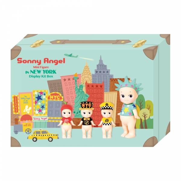 DREAMS 盒玩 SonnyAngel Minifigure IN NEW YORK 2019 紐約限定版禮盒 附街道展示卡 全4+2隱藏款 一中盒隨機4入販售  DREAMS,盒玩,SonnyAngel,Minifigure IN NEW YORK 2019紐約限定版 / 全4款+2隱藏 附街道展示卡