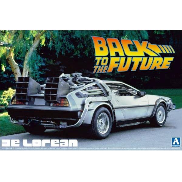 AOSHIMA / 1/24 / 回到未來 Back To The Future / DeLorean Ⅰ 組裝模型 AOSHIMA,1/24,回到未來,Back To The Future,DeLorean Ⅰ