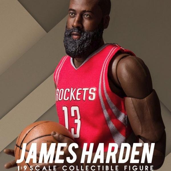 ENTERBAY / 1/9 / NBA / James Harden / 詹姆士哈登 ENTERBAY,1/9,NBA,James Harden,詹姆士哈登,鬍鬚,歐洲步,魯肉飯