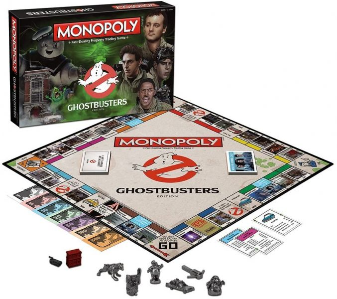 Hasbro 孩之寶 地產大亨 Monopoly 魔鬼剋星 收藏版 Hasbro,孩之寶,地產大亨 Monopoly,魔鬼剋星,收藏版