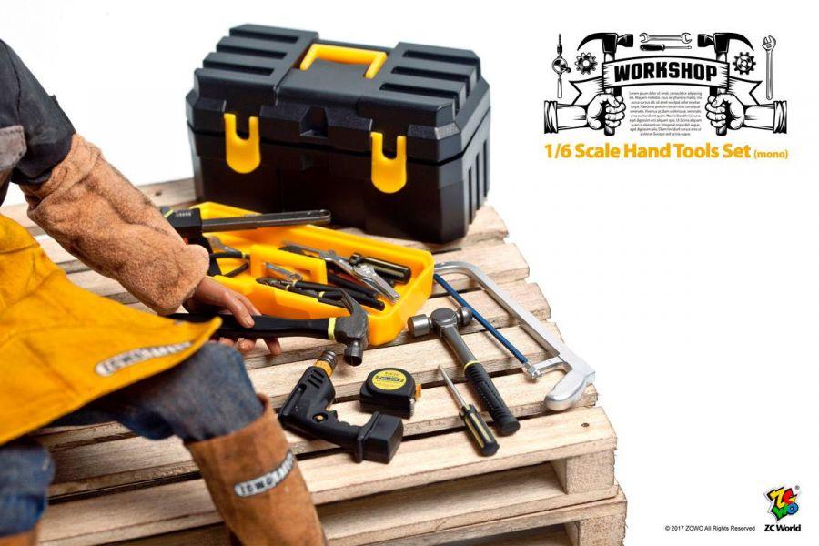 ZCWO 1/6 工具箱組 Hand Tools Set mono ZCWO,1/6,工具箱組,Hand Tools Set mono