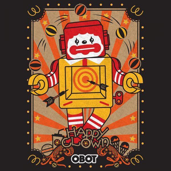 [全球限量] ZCWO OBOT HAPPY CLOWN 快樂小丑 ZCWO,OBOT,HAPPY CLOWN,快樂小丑