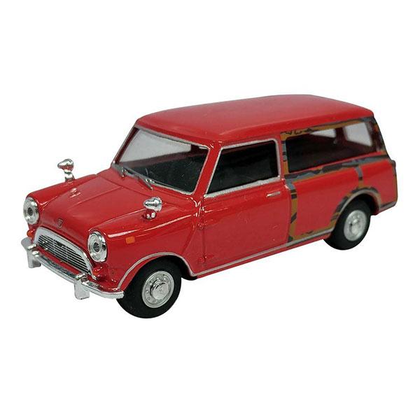 Cararama / 1/43 / Mini Traveller Van 紅色 合金完成品 Cararama,1/43,Mini Traveller Van,紅色