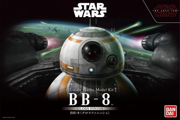 [光澤質感版] BANDAI 1/2 星際大戰 原力覺醒 BB-8 組裝模型 BANDAI,1/2,星際大戰,原力覺醒,BB-8,組裝模型,光澤質感版