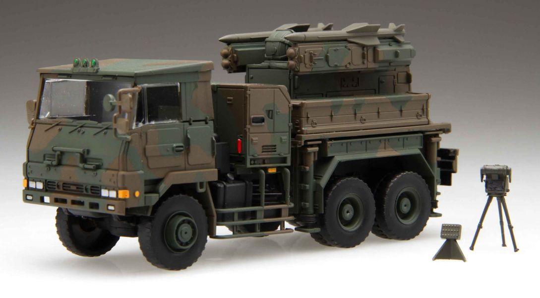 1/72 陸上自衛隊 81式短距離地對空誘導彈 射擊統制裝置 發射機 FUJIMI Mi23 陸上自衛隊 富士美 組裝模型 FUJIMI,1/72,,陸上自衛隊,mi,陸上自衛隊,81式,短距離,地對空誘導彈,射擊統制裝置,發射機,