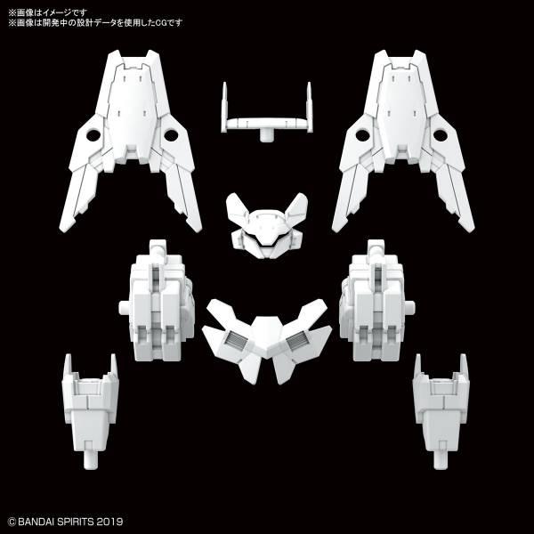 BANDAI 1/144 30MM #29 指揮官機用選配式裝甲 歇爾諾瓦用 白色 BANDAI,1/144,30MM,#29,指揮官機用選配式裝甲 歇爾諾瓦用,白色
