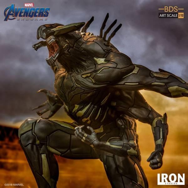 Iron Studios / 1/10 / 漫威 / 復仇者聯盟 : 終局之戰 / 饕餮王 General Outrider 雕像 Iron Studios,1/10,漫威,復仇者聯盟 : 終局之戰,饕餮王,General Outrider