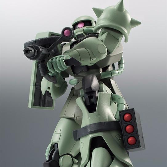 ROBOT魂 機動戰士鋼彈 MS-06 量產型薩克 綠薩克 ver. A.N.I.M.E. ROBOT魂,量產型薩克,綠薩克