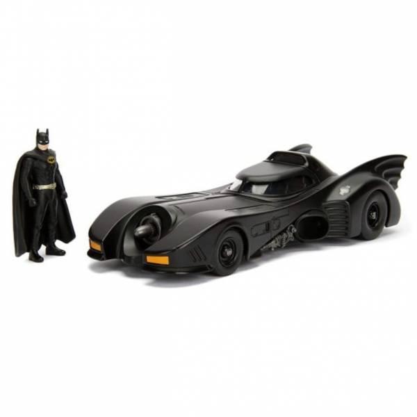 JADA 1/24 Hollywood Rides DC 蝙蝠俠 蝙蝠車 1989 Ver. 含蝙蝠俠 JADA,Metals,1/24,DC,合金車,蝙蝠車,1989,蝙蝠俠
