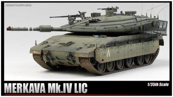 Academy 愛德美 1/35 MERKAVA MK.IV LIC 以色列陸軍 組裝模型 Academy,愛德美,1/35,MERKAVA,MK.IV LIC,以色列陸軍,組裝模型